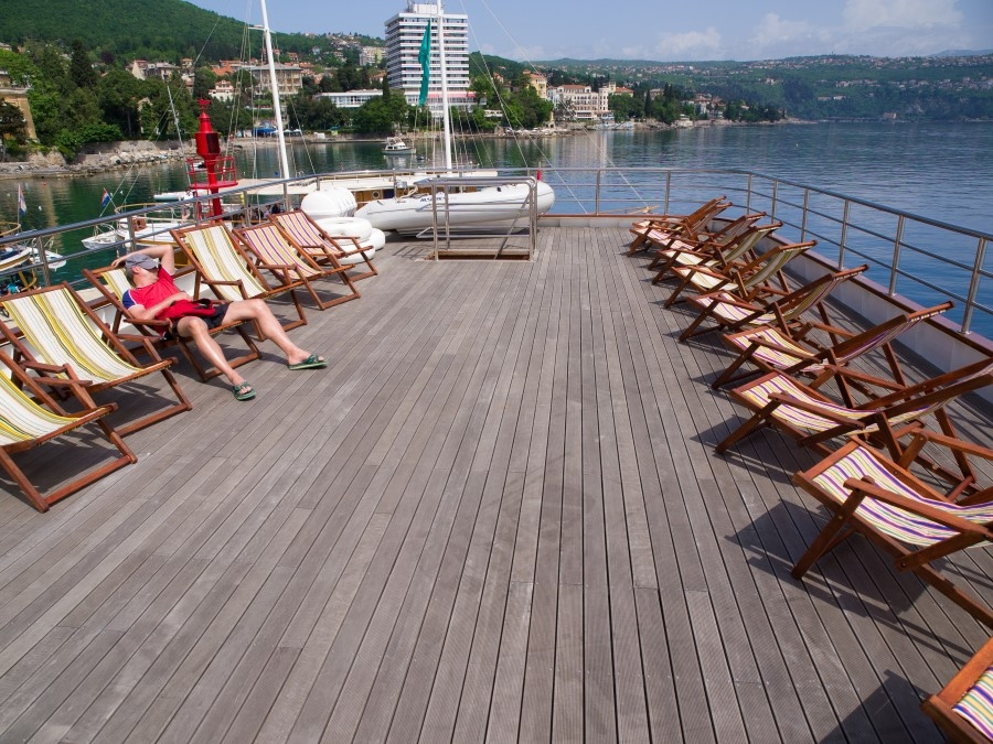 Spalato sun deck